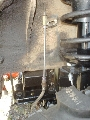 Brake line extensions for lift